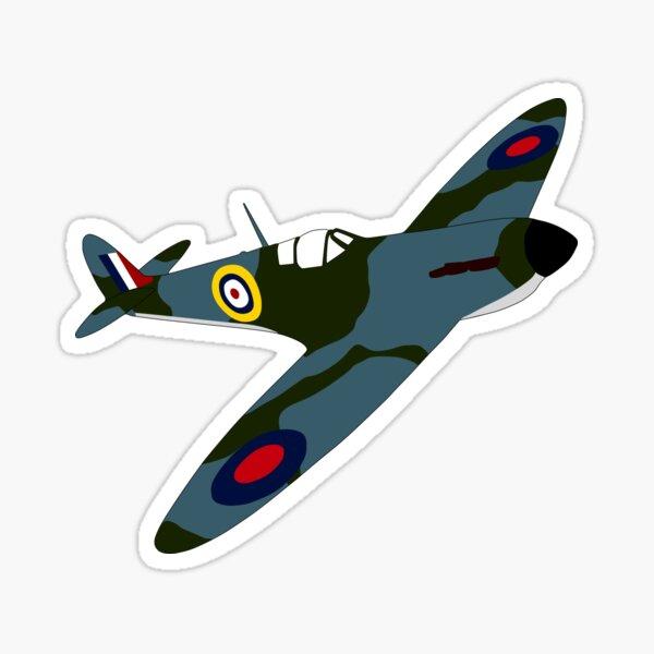 Spitfire Fly Past Sticker
