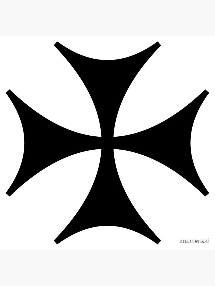 Bolnisi cross, Maltese cross by znamenski