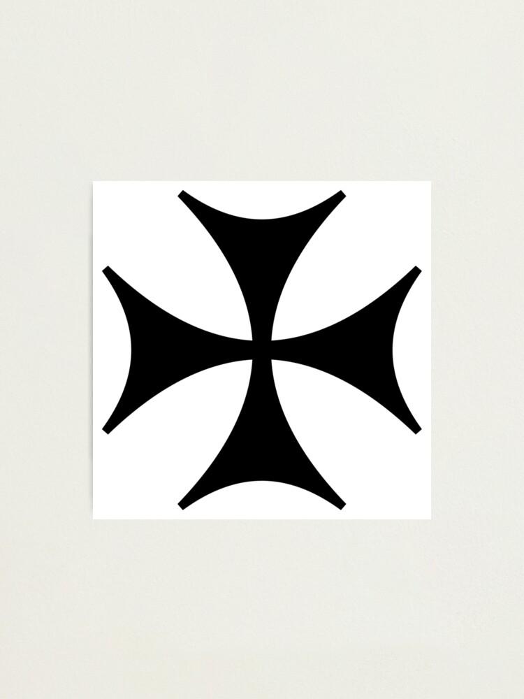 Alternate view of Bolnisi cross, Maltese cross Photographic Print