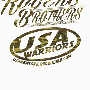 usa warriors army camo by rogers bros by usanewyork