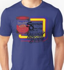 usa warriors motor oil by rogers bros Slim Fit T-Shirt