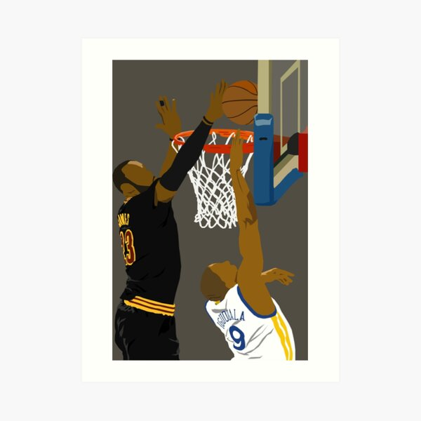 OH, BLOCKED BY JAMES Art Print
