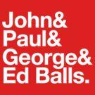 Ed Balls by unloveablesteve