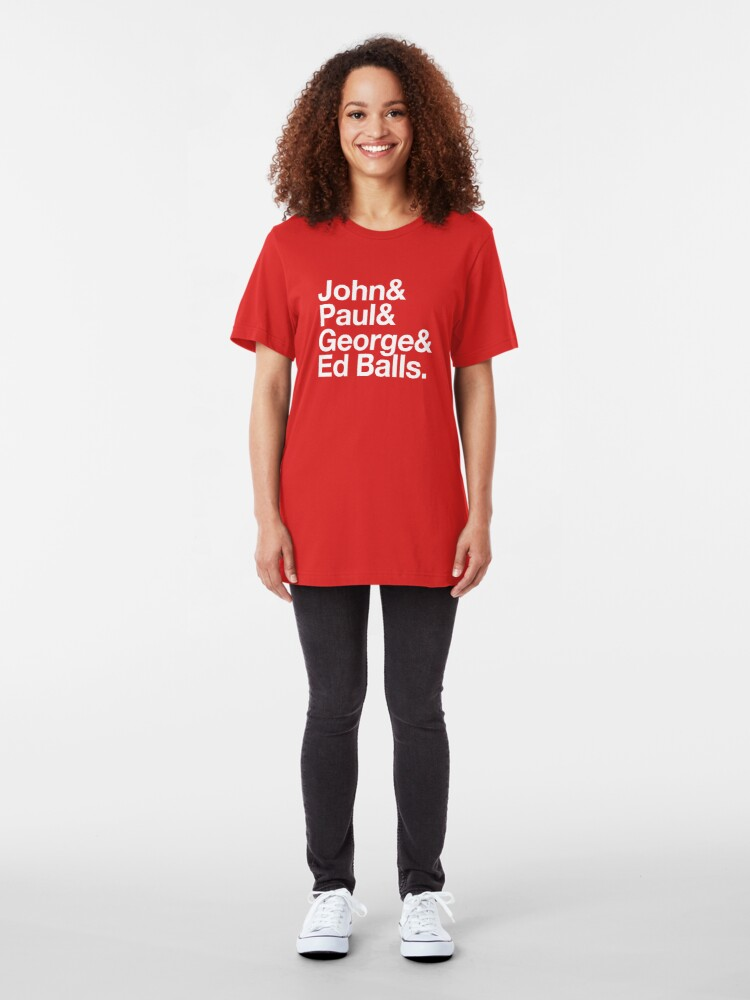Alternate view of Ed Balls Slim Fit T-Shirt