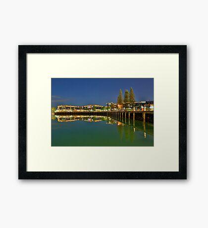 Raby Bay Framed Print