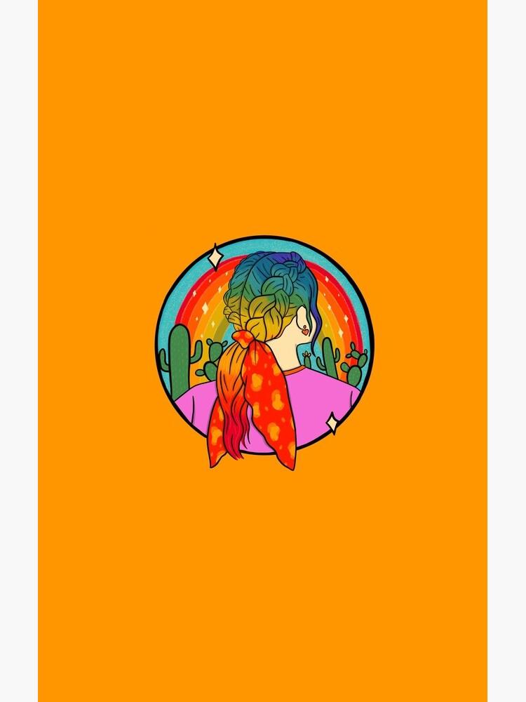 Rainbow Girl by doodlebymeg