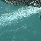 Aerial, Horizontal Falls, McLarty Range, Kimberley, Western Australia by Margaret  Hyde