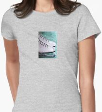 To Skate Womens Fitted T-Shirt