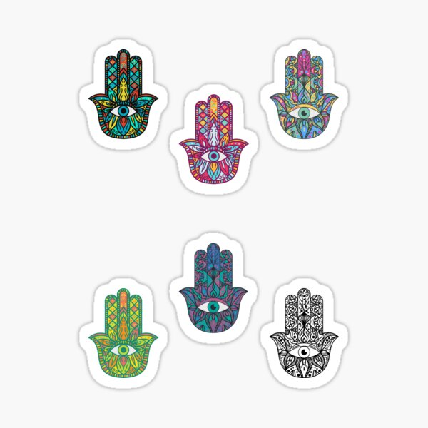 Hamsa Hand (Pack) Sticker