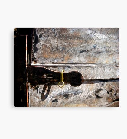 Almost Locked Out! Canvas Print
