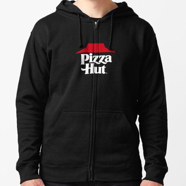 BEST SELLER - Pizza Hut Vintage Logo Merchandise Zipped Hoodie
