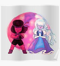 Steven Universe: Ruby x Sapphire Poster