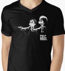 Pulp Bros. Men's V-Neck T-Shirt