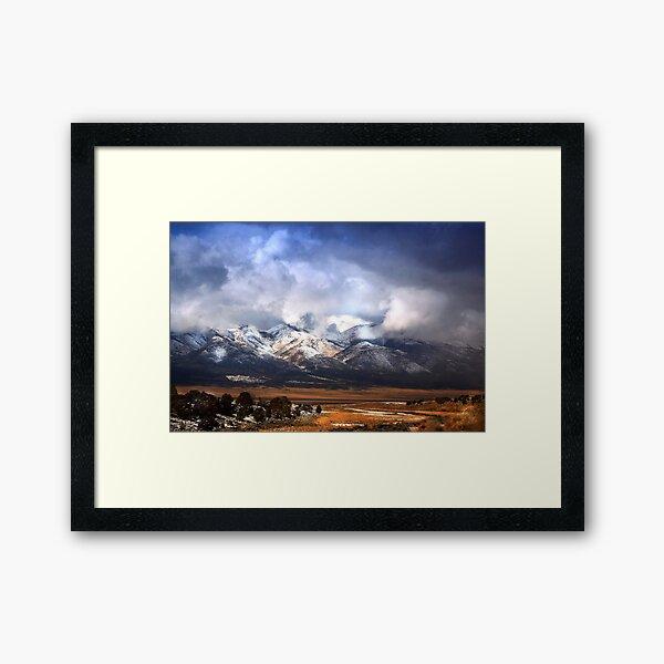 Ward Mountain Framed Art Print