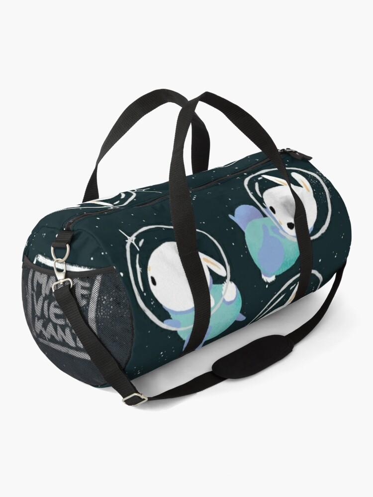 Alternate view of Space Bunnies Duffle Bag