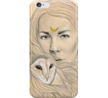 Owl Maiden  iPhone Case/Skin