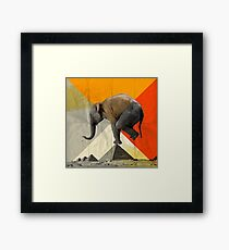 Balance of the Pyramids Framed Print
