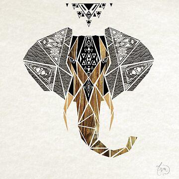 elephant by Manoou