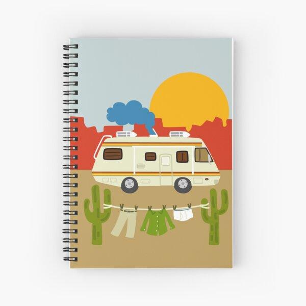 Heisenberg Laundry Spiral Notebook
