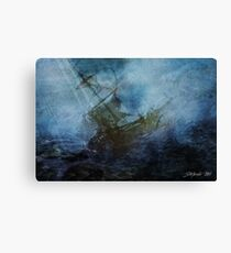 """The End of  """"Audacious"""" Canvas Print"""