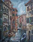 Venice at dusk by Stefano Popovski