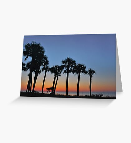 Between Night and Day Greeting Card