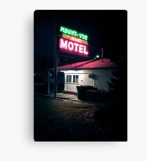 Motel Canvas Print