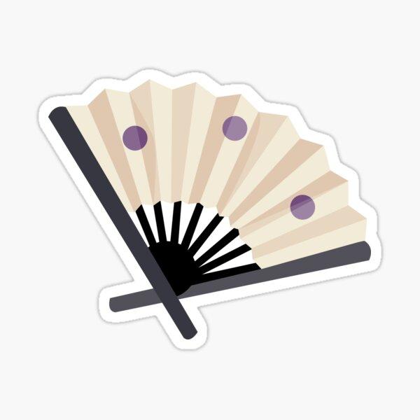Temari's fan Sticker