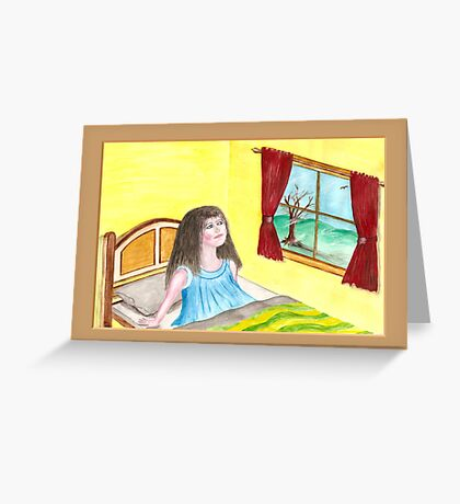 Dreams that lift the spirit Greeting Card