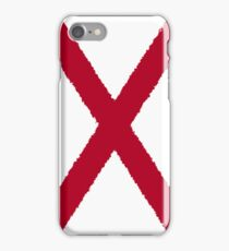 Smartphone Case - State Flag of Alabama  - Vertical Painted iPhone Case/Skin