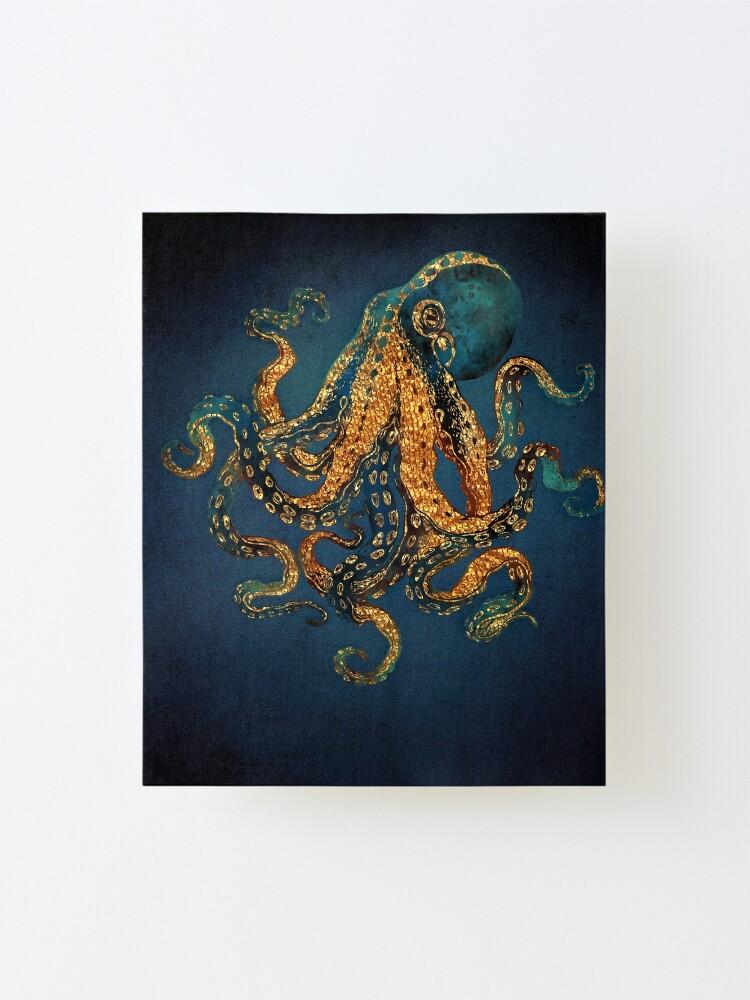 Alternate view of Underwater Dream IV Mounted Print