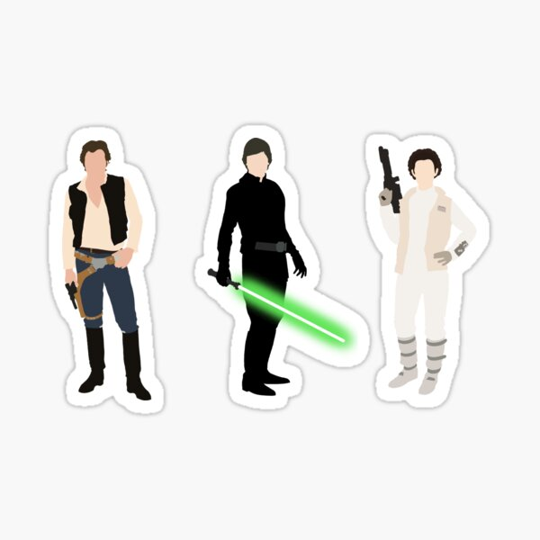 The Original Trio Sticker