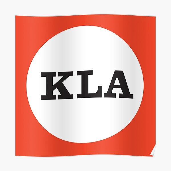 KLA Logo from 'Thunderbirds' Poster