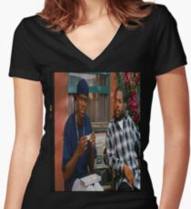 Friday Tee Women's Fitted V-Neck T-Shirt