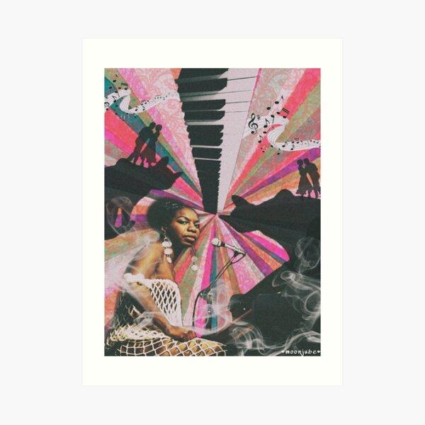 Nina Simone Sea Lion Woman Art Print