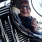 Reflections on a Harley Davidson by Mary Ellen Garcia