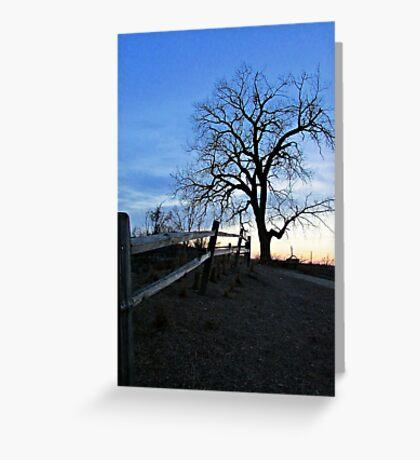 Rustic Trail Greeting Card