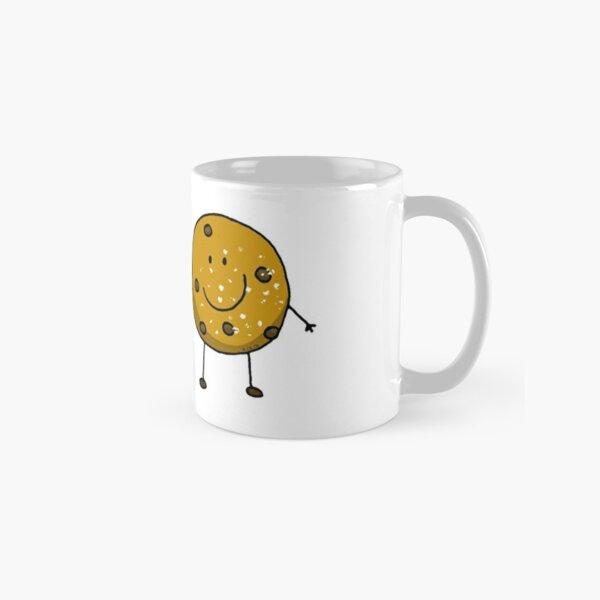 Cute chocolate chip cookie besties Classic Mug