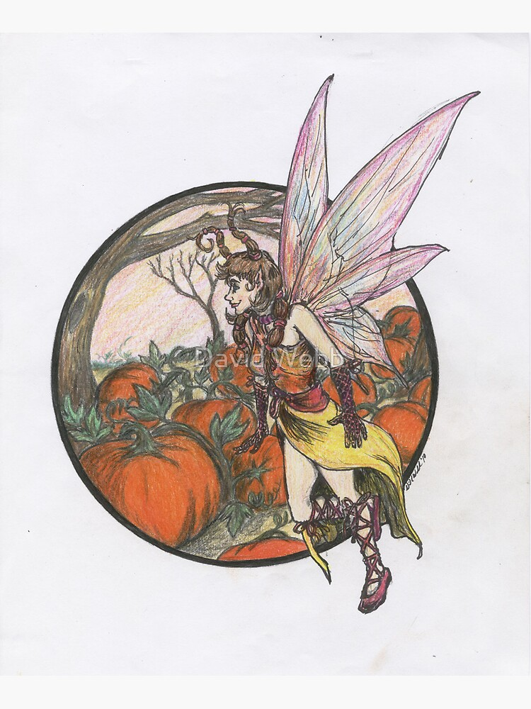 Aefwine - Autumn Harvest Fairy by GraphiteWeb