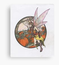 Aefwine - Autumn Harvest Fairy Canvas Print
