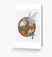 Aefwine - Autumn Harvest Fairy Greeting Card