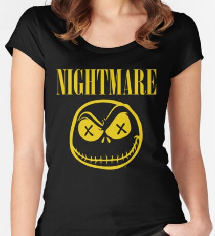 NIGHTMARE Women's Fitted Scoop T-Shirt