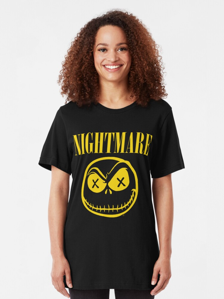 Alternate view of NIGHTMARE Slim Fit T-Shirt