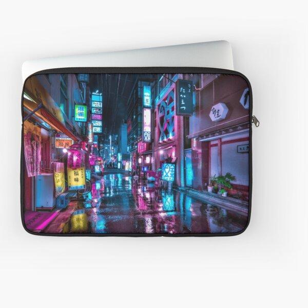 Tokyo at Night - Shimbashi Laptop Sleeve