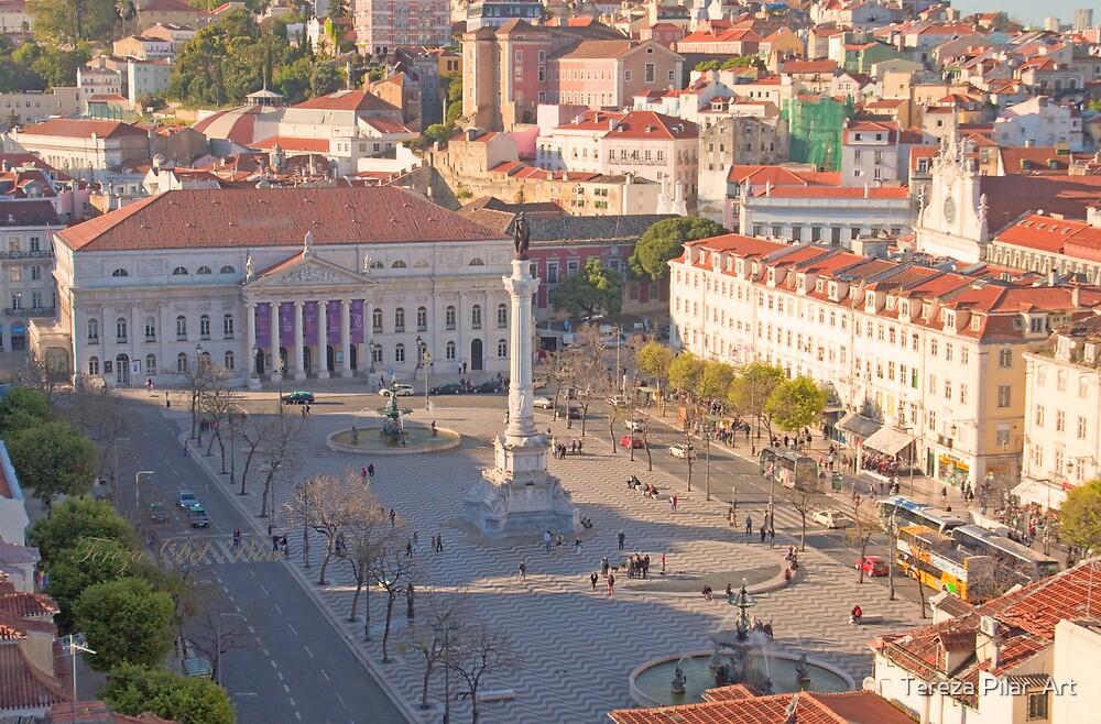 rossio. praça d. pedro IV by terezadelpilar ~ art & architecture