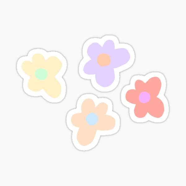 Golf Wang style flowers Sticker
