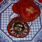 Sun Tomato by WildestArt