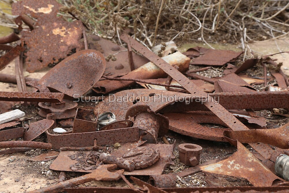 Rusting Away In Monarto Ruins by Stuart Daddow Photography