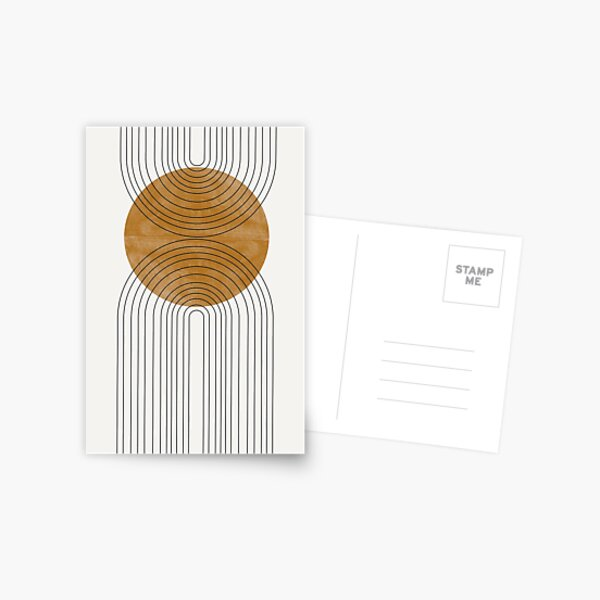 Abstract Flow Postcard