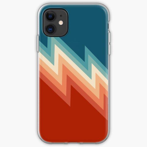 Retro style chevron pattern iPhone Soft Case